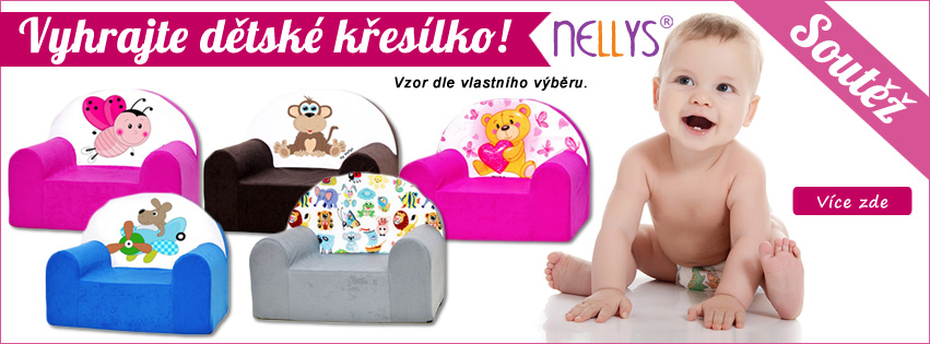 70fb1eee4b1 Nakup a vyhraj křesílko Nellys dle svého výběru - Mamitati ...
