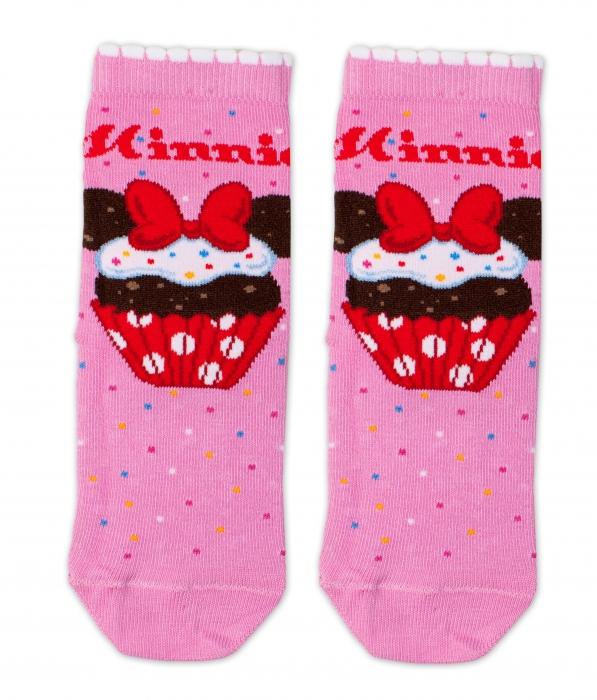 3efff508d7 Bavlněné ponožky Disney Minnie Cupcake - tm. růžové - Mamitati - od ...