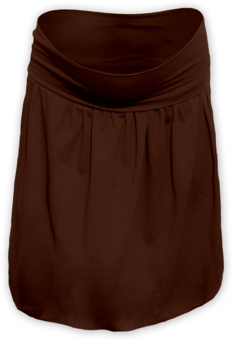 4ac876374970 JOŽÁNEK Balónová sukně - hnědá - Mamitati - od mámy a od táty