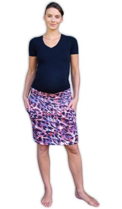 8c9a6446a39e JOŽÁNEK Letní těhotenská sukně s kapsami - vzor č. 05 - Mamitati ...