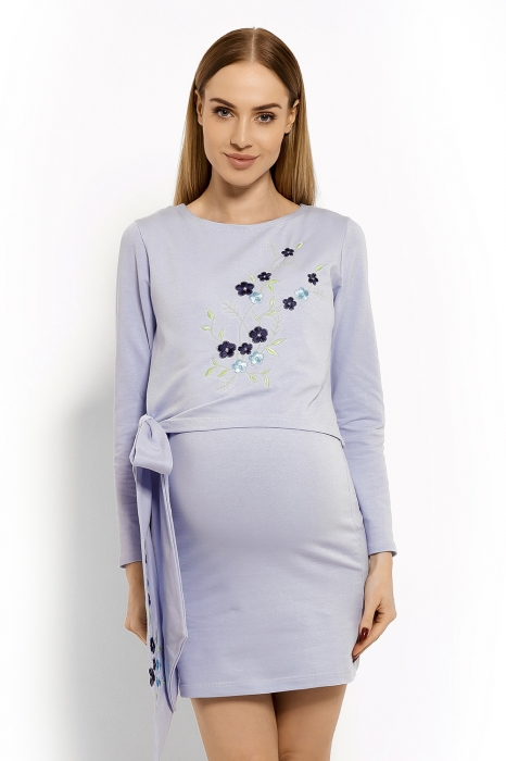Elegantní těhotenské šaty ccf85c6bf1