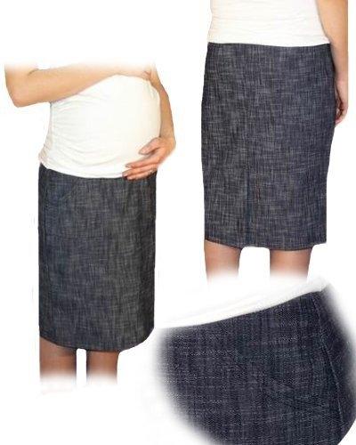 bec6c0c681e Těhotenská sportovní sukně s kapsami melírovaná - granát - Mamitati ...