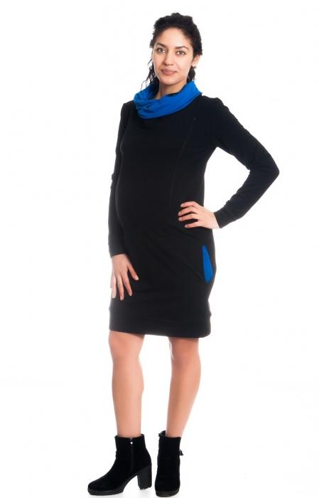 e95574e8300 Teplákové těhotenské kojící šaty Eline