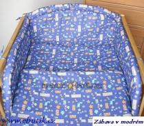Krásný volánek pod matraci - Jahůdka