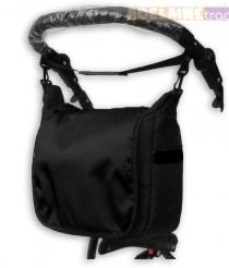 Taška na kočárek lux - černá