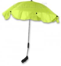 Slunečník, deštník univerzální do kočárku - zelený