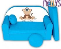 Rozkládací dětská pohovka Little Monkey Nellys -…