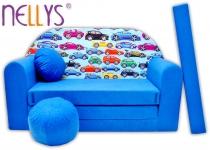 Rozkládací dětská pohovka Nellys ® 64R
