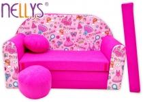 Rozkládací dětská pohovka Nellys ® 71R