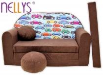 Rozkládací dětská pohovka Nellys ® 72R