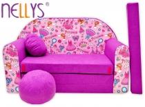 Rozkládací dětská pohovka Nellys ® 75R