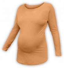 Těhotenské tričko dlouhý rukáv LENKA - sv.…