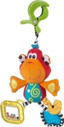 Závěsná opička s klipem PLAYGRO