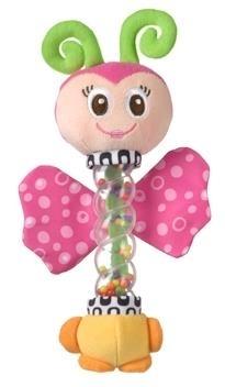 Motýl s chrastítkem PLAYGRO