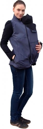 Vesta pro nosící, těhotné - softshellová - tm.…