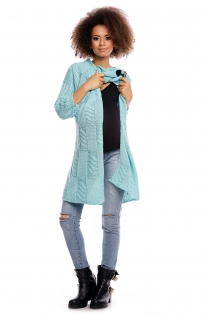 Dlouhý svetřík HANNE - mátový