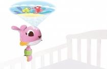 TINY LOVE Cestovní projektor Velryba Suzi - růžová