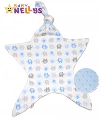 Mazlík pro nejmenší látkový Baby Nellys ® - Sloni…