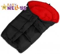 Fusák nejen do autosedačky Baby Nellys ® MINKY - …