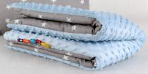 MINKY Baby Luxusní deka 75x100cm - Hvězdičky v…