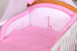 10-ti dílný set Žirafka - Růžová