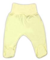 Bavlněné polodupačky - žluté