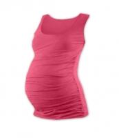 Těhotenský top JOHANKA - lososově růžová