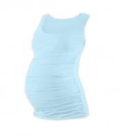Těhotenský top JOHANKA - sv. modrá