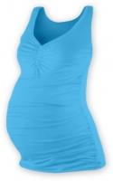 Těhotenský topík JOLANA - tyrkys