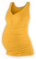 Těhotenský topík JOLANA - sv. oranžová