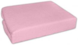 Jersey prostěradlo - Růžové - 140x70