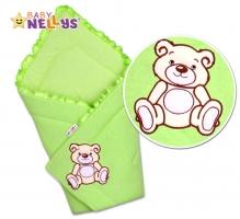 Zavinovačka TEDDY BEAR Baby Nellys - jersey - jersey - zelená