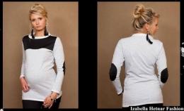 Těhotenské triko/halenka Dita