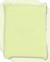 Houbička na mytí s froté obalem - zelená