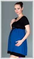 c7040acb52a Sportovní těhotenské šaty s kapucí - černé - Mamitati - od mámy a od ...