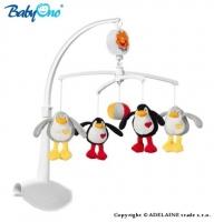Kolotoč nad postýlku Baby Ono - Tučňáčci