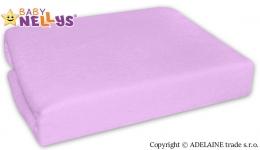 Nepromokavé prostěradlo Baby Nellys ® -  Fialové