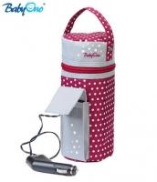 Cestovní ohřívač do auta Baby Ono  - bordo