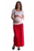 Maxi dlouhá sukně MAXINA  - červená