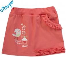Suknička Little Bird - korálová