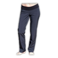 Sportovní oteplené kalhoty nejen pro těhotné - softshellové