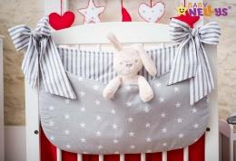 Kapsář nejen na hračky STARS be LOVE - č. 10