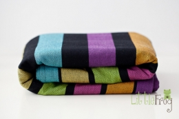 Little FROG Tkaný šátek na nošení dětí - Fluoryt