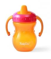 Naučný hrníček Baby Ono, 9m+ - oranžový/růžový