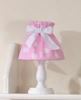 Noční lampička - retro růžové