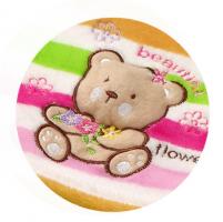 Veselá dečka z mikrovlákna Baby Ono - s pískátkem - MEDVÍDEK