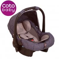 Autosedačka 0 - 13kg Coto Baby Latina - len/jeans