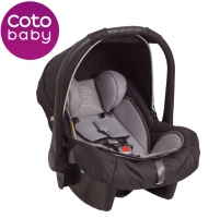 Autosedačka 0 - 13kg Coto Baby Latina - černa 01