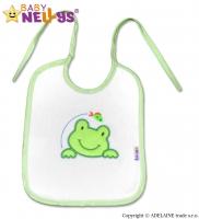 Bryndáček Žabka Baby Nellys ® - bílý