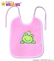 Bryndáček Žabka Baby Nellys ® - růžová